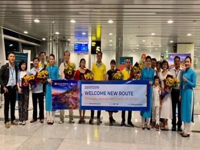 Vietnam Airlines mở đường bay quốc tế Đà Nẵng - Busan